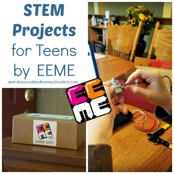 Stem Information For Students: STEM Projects For Teens By EEME