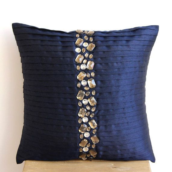 Decorative Throw Pillow Covers Accent Pillows Couch Cases 16x16 Pillow Cover Silk Dupioni ...