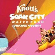 ONE (1) SINGLE DAY TICKET TO KNOTT'S SOAK CITY ORANGE COUNTY 1000 pts.  Bronze
