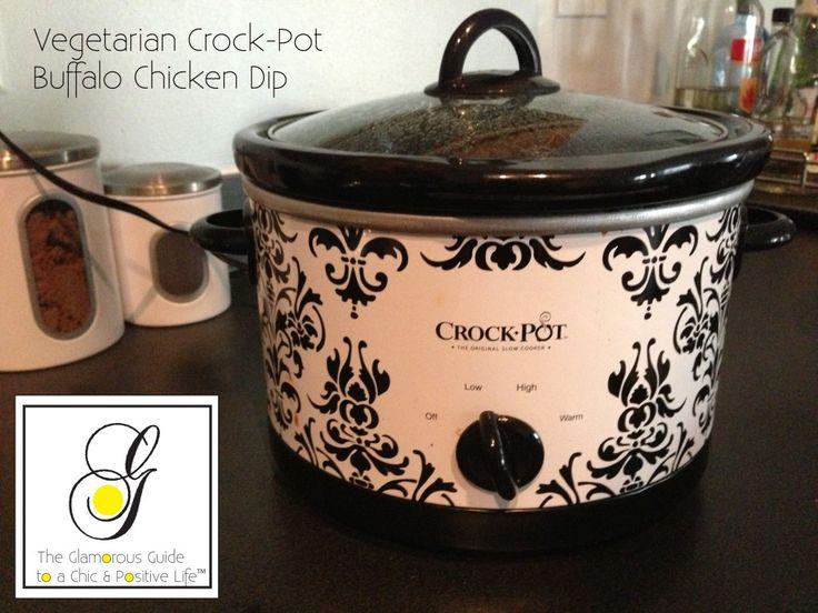 Vegetarian Crock Pot Buffalo Chicken Dip
