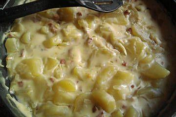 Bechamel - Kartoffeln