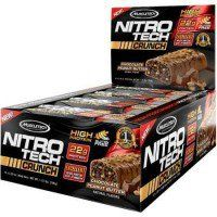 Nitro Tech Crunch bar is a #protein bar with #gourmet flavor and quality, #gluten-free #suplementoscorposflex https://www.corposflex.com/muscletech-nitro-tech-crunch-bar-65g-barra-proteica