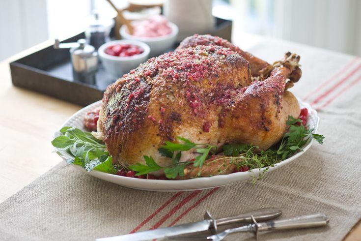 favorite Thanksgiving turkey recipe (+ cranberry butter)