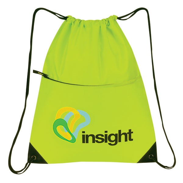 Promotional Products | All Purpose Drawstring Tote II Bag