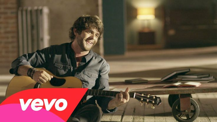 Thomas Rhett - It Goes Like This. SAW Him in concert and he was amazing.. SERIOUSLY GO GET TICKETS TO SEE THIS MAN. You'll be BEGGING For more by the end of his show!!!!!!!!!!!!!
