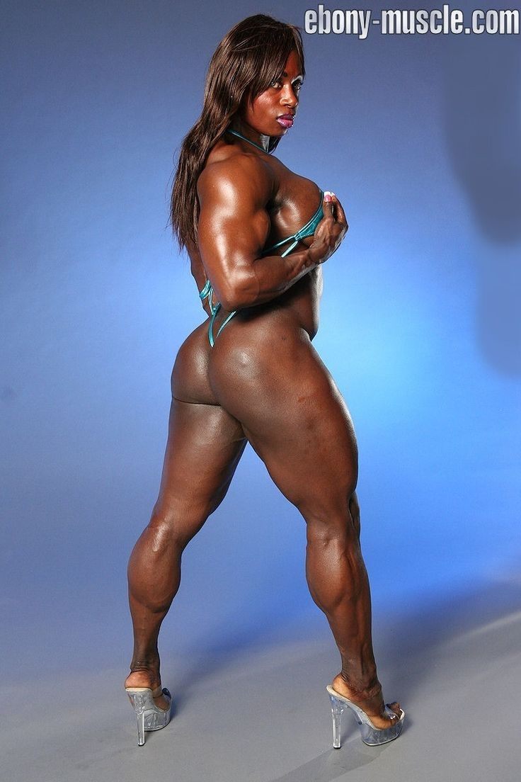 ebony fit sexy body muscular