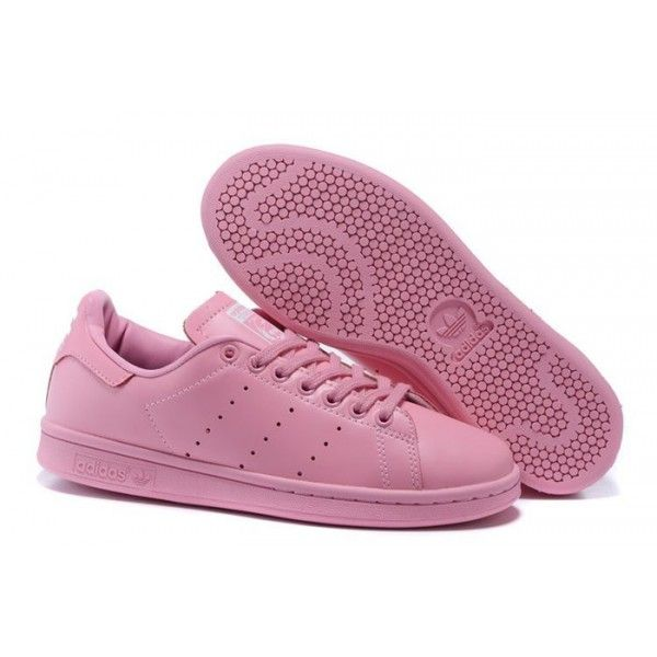 Buy Latest Adidas Femme Casual Chaussures 2016 Superstar Smith Leather Tout  Rose (Stan Smith Mode) from Reliable Latest Adidas Femme Casual Chaussures  2016 ...