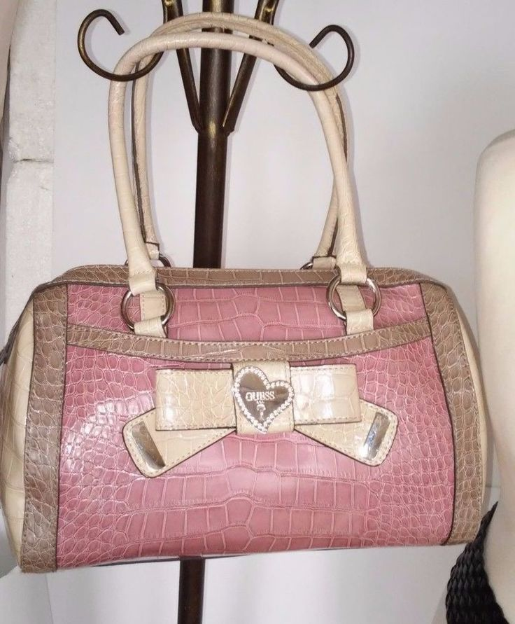 GUESS woman big pink bag #guess #Satchel