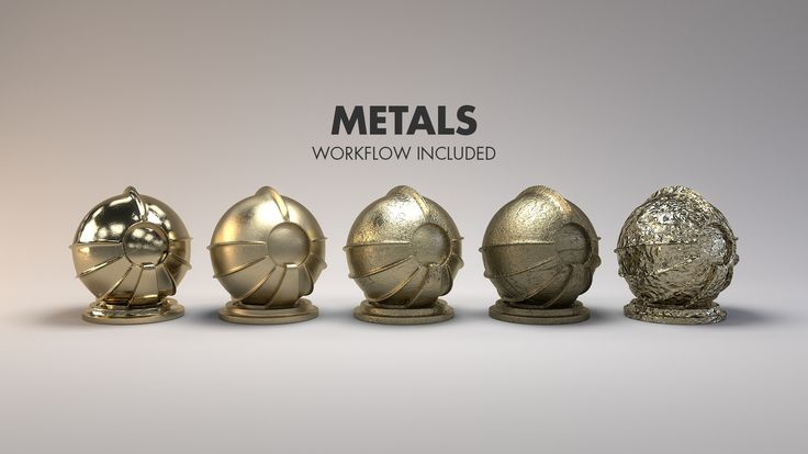 Material Studies: Metals, Jarrod Hasenjager on ArtStation at https://www.artstation.com/artwork/aL4JR