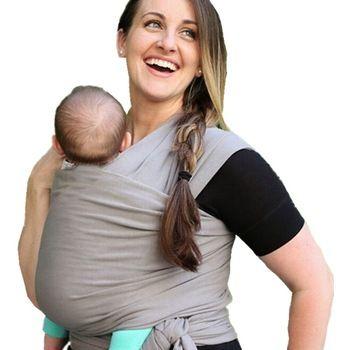 Confortable mode infantile fronde doux Wrap porte - bébé sac à dos respirant ergonomique coton Hip Seat