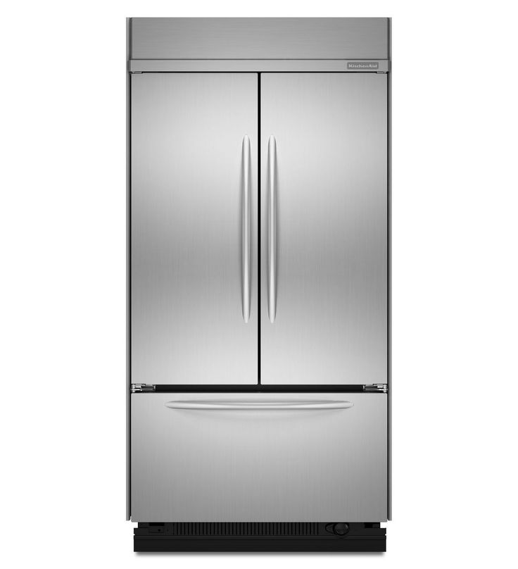 Kitchenaid 22 6 cu ft 42 inch width built in french for French door width