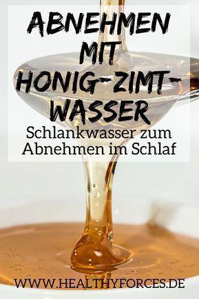 Honig-Zimt-Wasser zum Abnehmen: Rezept für Schlankwasser