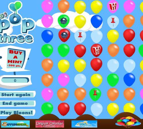 Yenioyun NET - Sitemizde en güzel balon patlatma oyunları ve en yeni baloncuklar patlatma oyunlarını bedava ve online olarak oynayabilirsiniz. http://www.yenioyun.net/balon-patlatma/