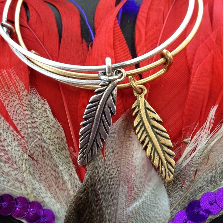 Alex and Ani feather bangle - would love this in memory of Skittles!!!
