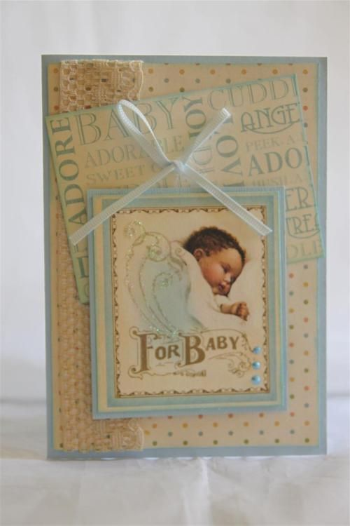 """A found Baby card.."" (quote) via helenscarddesigns.wordpress.com"