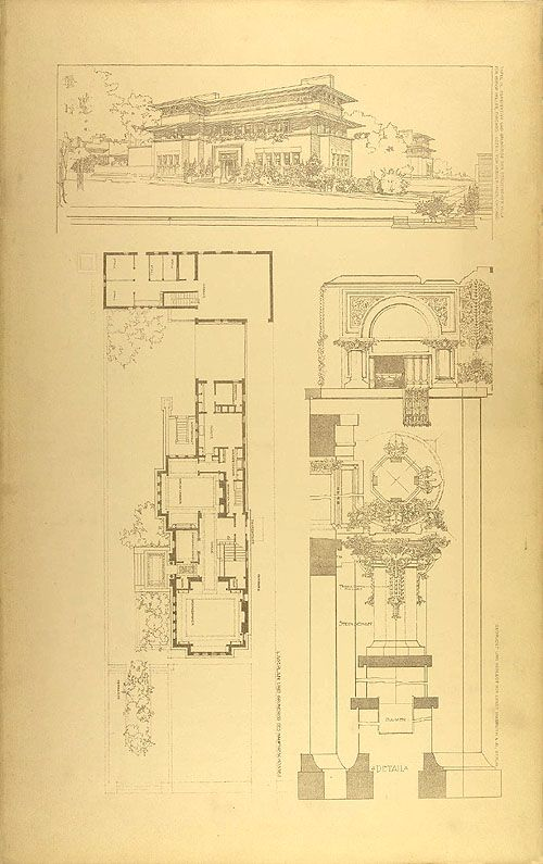 895 best images about historic floor plans on pinterest Frank home plans