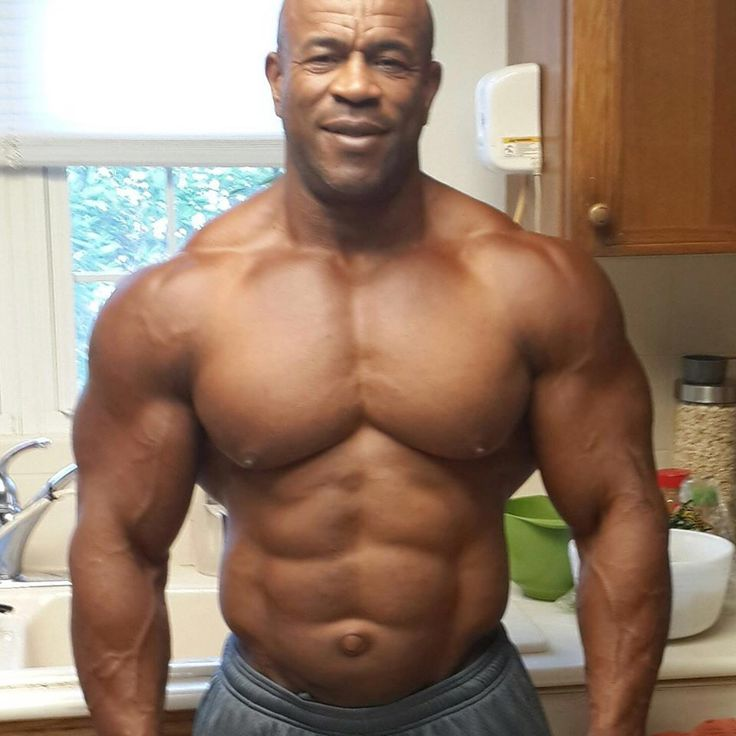 Damn, Daddy Is Jacked And Oh, Those Abs  Pecs  Muscle -4798