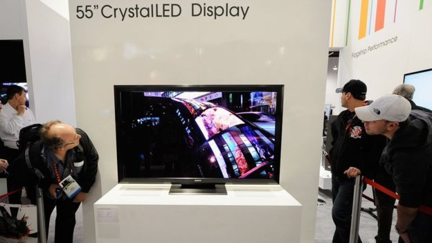 """In 2012 Sony demonstrated the first micro-LED TV (55"""", Full-HD) which they termed Crystal-LED. Sony's 55"""" Crystal-LED never reached the market, but in 2016 the company unveiled its large-area outdoor micro-LED displays which Sony calls Canvas Display, or CLEDIS. CLEDIS displays are based on modular tiles (each 403 x 453 mm in size with a resolution of 320x360). The pixel pitch is 1.2 mm and the emitting area is 1% - which enables very high contrast ratios. The peak luminance of CLEDIS…"""
