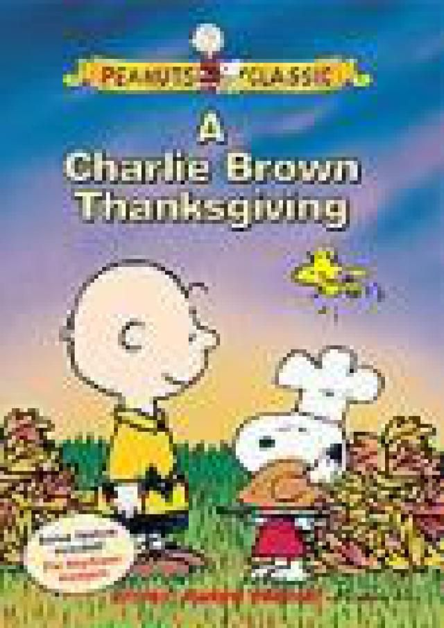 6 Family Thanksgiving Movies: A Charlie Brown Thanksgiving (DVD) (1973)