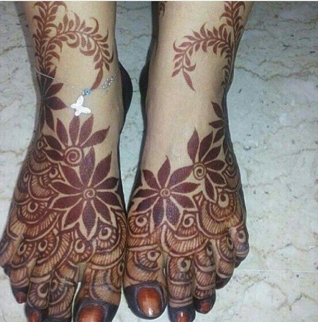 Feet Khaleeji Arabic Henna Design Pictures Www Picturesboss Com