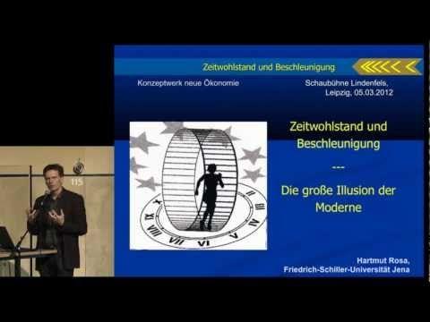 Hartmut Rosa: Zeitwohlstand und Beschleunigung