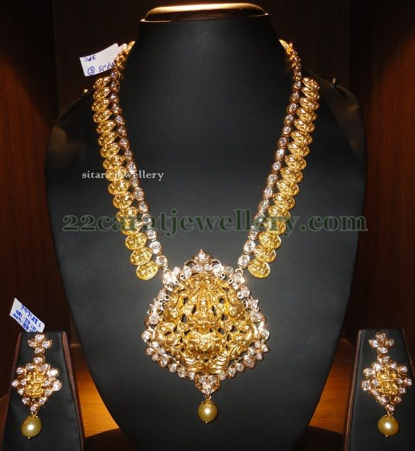Jewellery Designs: Contemporary Kundan Kasulaperu