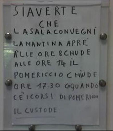 L'Italiano non è proprio il suo forte... Ma che sarà mai? :-)