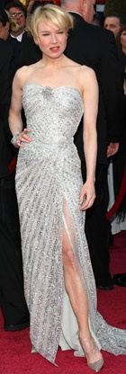Reneé Zellweger in Carolina Herrera, Oscars 2008