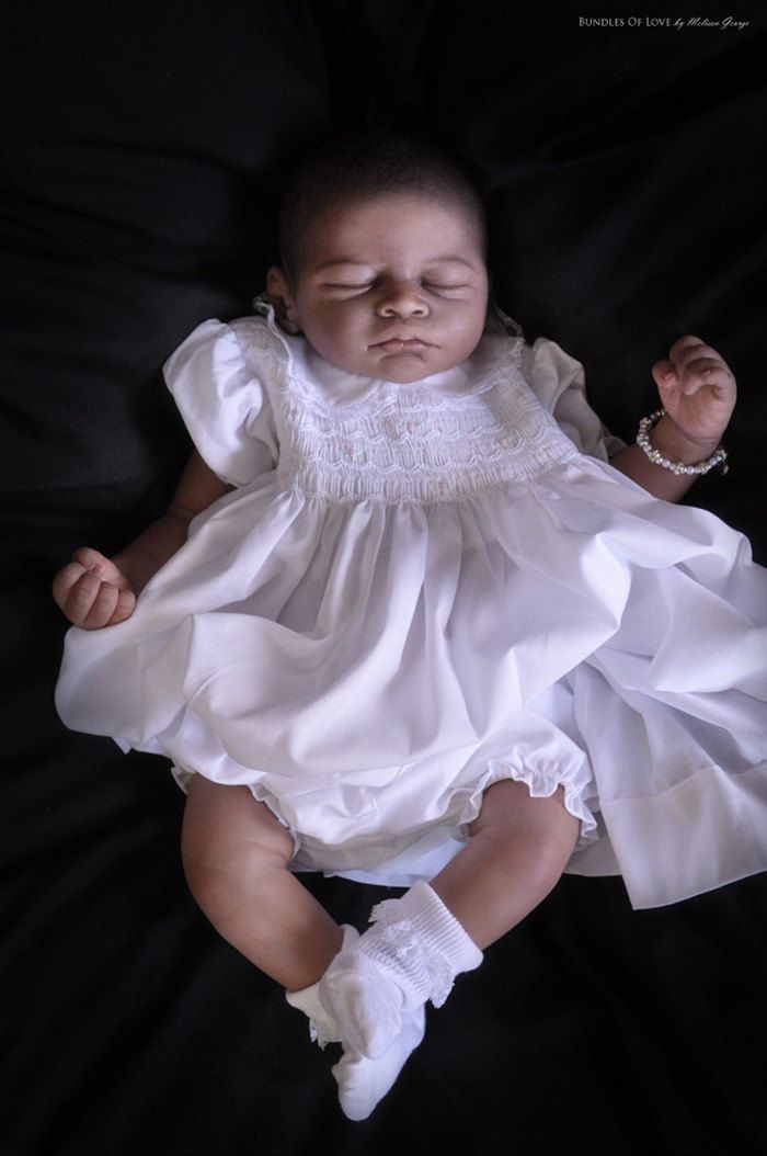 reborn baby doll kit, AISHA by jpodys on Etsy