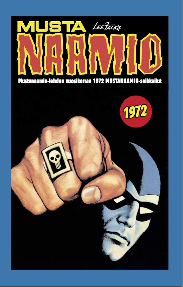 Mustanaamio - Mustanaamio-lehden vuosikerran 1972 Mustanaamio-seikkailut