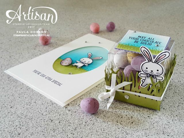 Paula Dobson - Stampinantics. Basket Bunch Artisan Design Team blog hop March 2017. Click on the picture to take the hop and see more of Paula's projects. #pauladobson #stampinantics #basketbunchbundle #artisandesignteam #stampinupeasterprojects