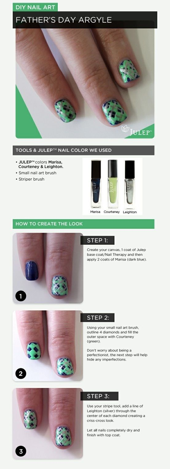 27 best Father\'s Day Nail Art images on Pinterest | Nail art ideas ...