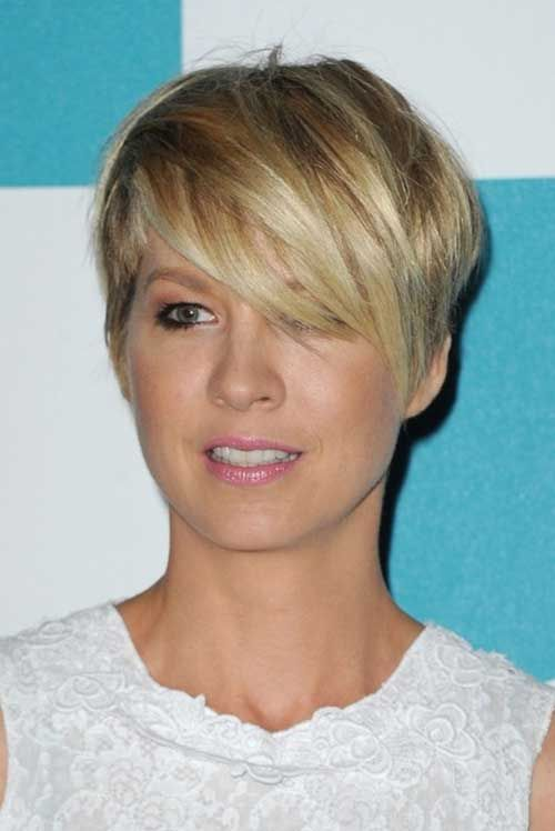Short Pixie Hair Long Bangs Style