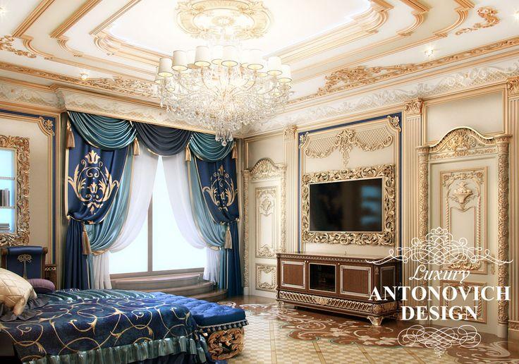 Элитный дизайн проект коттеджа с двумя спальнями в классическом стиле от дизайн студии Luxury Antonovich Design