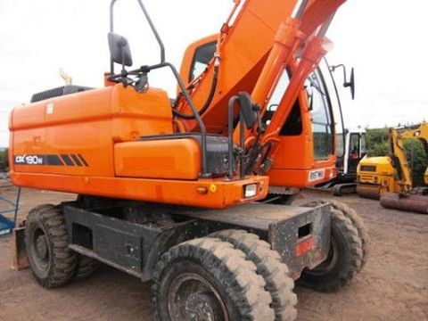 Click On The Above Picture To Download Doosan Daewoo Dx190w Excavator Parts Manual