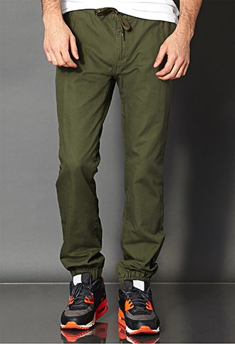 Drawstring Jogger Pants | 21 MEN - 2000110817