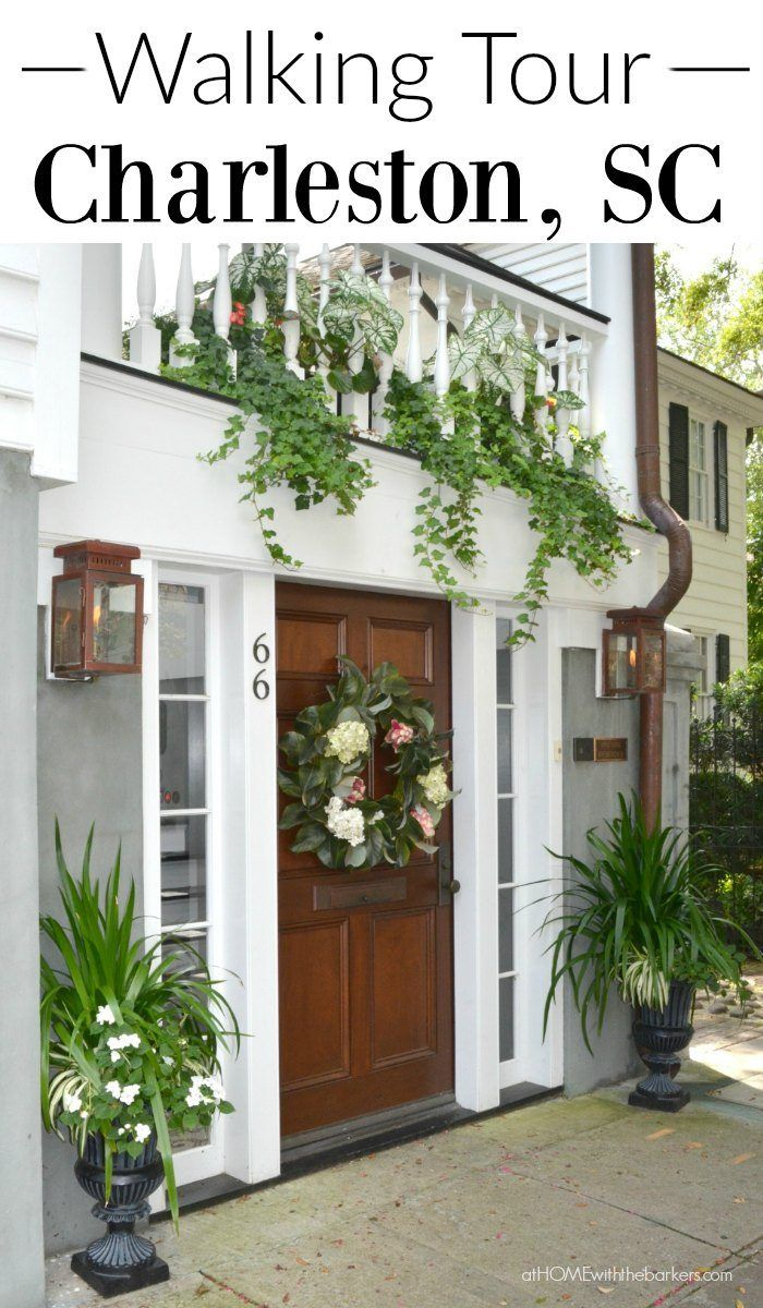Explore Charleston SC best on feet! Walking tours are a great way to see this beautiful city. Voted #1 destination in the WORLD by Travel + Leisure. Click the photo to take a virtual tour.