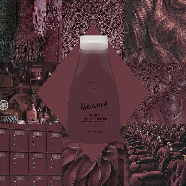 evo® fabuloso pro™ - dusty rose  salon – 2g chocolate + 1g red + 1g violet + 16g conditioner  retail - 230g retail conditioner base + 6g chocolate + 3g red + 3g violet + 8g conditioner  #evo #fabulosopro #dustyrose