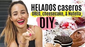 DIY Helados caseros FÁCILES & deliciosos - YouTube