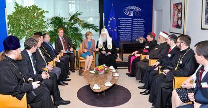 Делегація Всеукраїнської Ради Церков і релігійних організацій відвідала Страсбург та розташовані там європейські інституції: Європарламент, Раду Європи та Європейський Суду з прав людини. Візит відбувся 15-19 травня за сприяння християнсько-демократичного Фон�