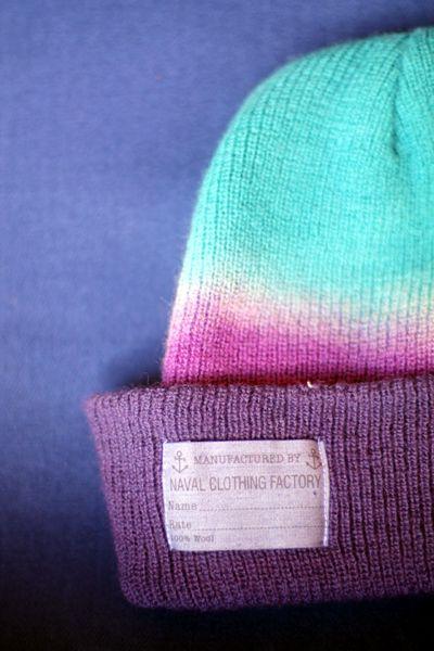 NAVAL wool cap.