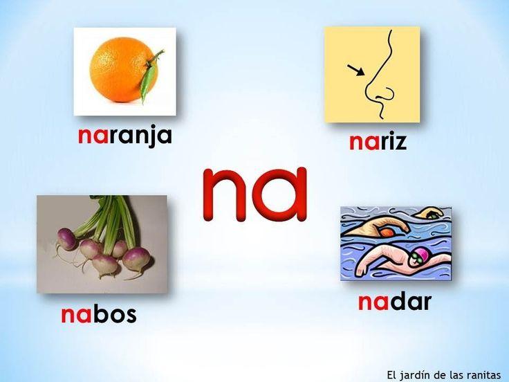 # 8 Sílabas na ne ni no nu - Syllables with N