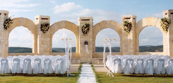 San Antonio Wedding Venues | El Fortin Lawn | La Cantera Resort