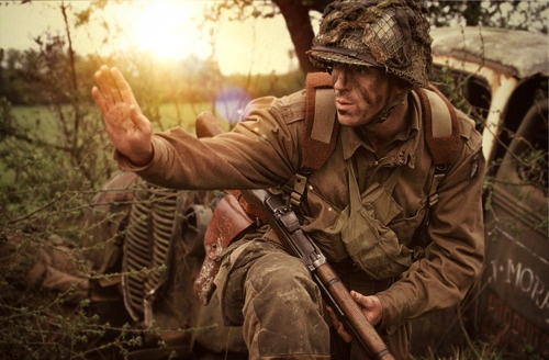 Dick Winters (Damian Lewis) <3 Day of Days