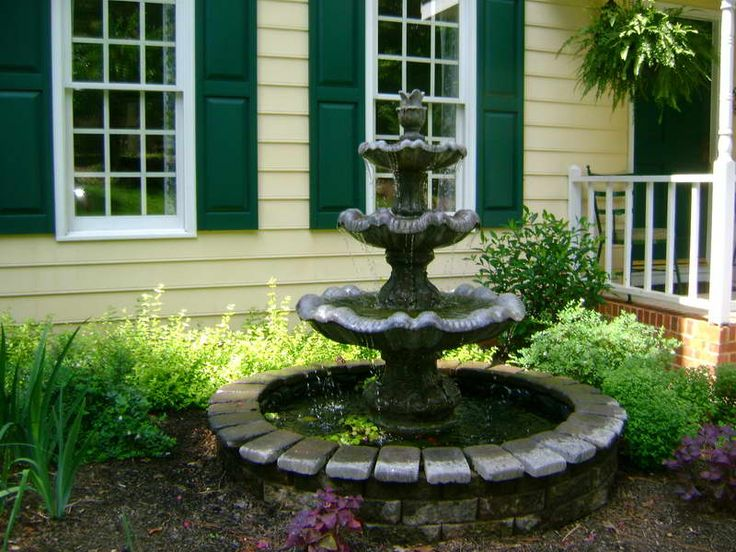 137 best Water Fountains for the Yard images on Pinterest Water