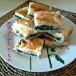 Torta salata con spinaci mortadella e sottilette