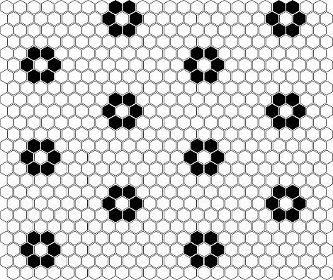 Mini HEXAGON Flower - DUNIN