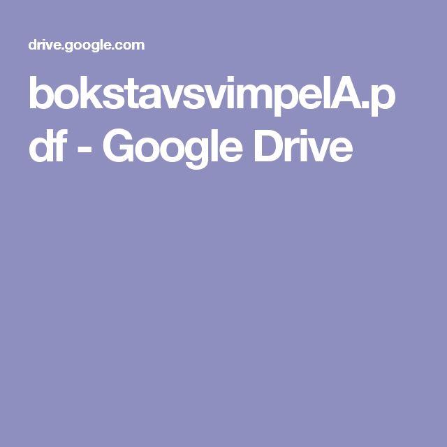 bokstavsvimpelA.pdf - Google Drive