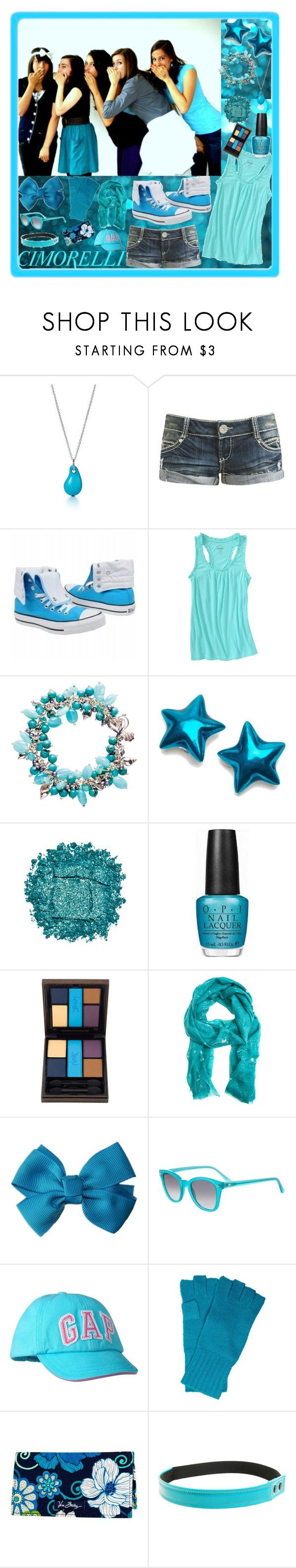 """""""Cimorelli <3"""" by andrej4e-xoxo ❤ liked on Polyvore featuring Elsa Peretti, Wet Seal, Converse, Old Navy, Dower & Hall, Urban Decay, OPI, Yves Saint Laurent, Virginia Johnson and RETROSPECS"""