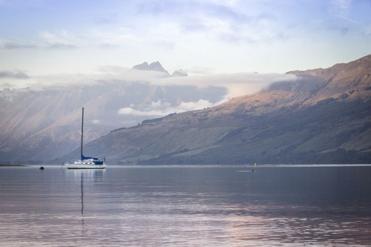 Early morning view from the Glenorchy wharf. #Glenorchy #roadtrip